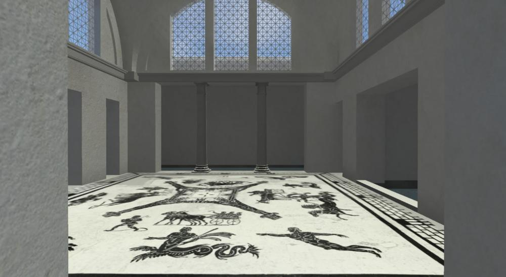 University of Texas at Austin Art History Professor and Yale PhD graduate will give a lecture on the sensual turn in art history in relation to the baths at Ostia Antica in Rome