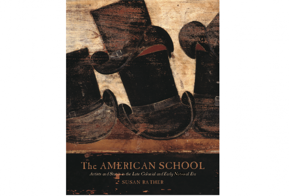 book cover for the american school