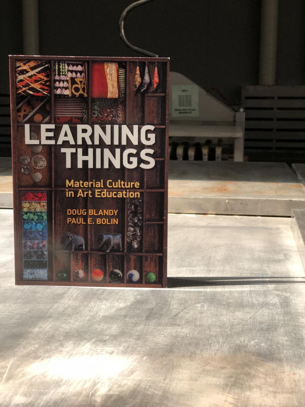 image of book cover learning things