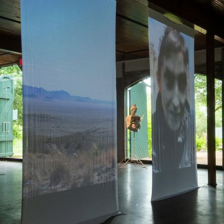 Installation view of Katy McCarthy: SUCH LONELY COUNTRY