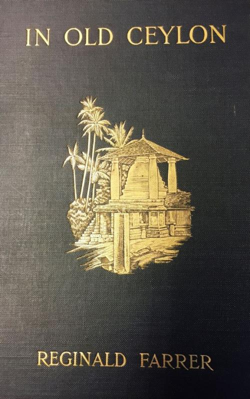 book cover with embossed image of structure