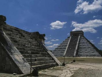 University of Texas at Austin Art History Professor and Mesoamerica Center Director David Stuart weighs in on funding cuts to heritage sites such as the one in this image Mayan site Chichen Itza