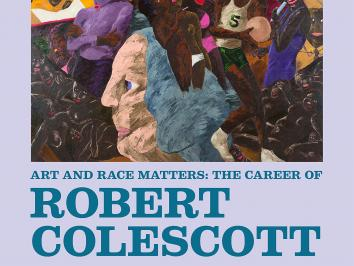 Art History PhD student at UT Austin Jessi Ditillio writes about the exhibition whose image is displayed here from the artist Robert Colescott