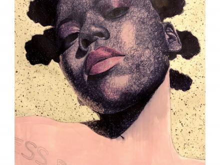 portrait painting from Austin based Adrian Armstrong