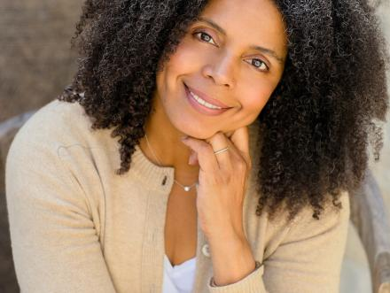 portrait headshot of University of Texas at Austin Chair in African American Studies and a professor in the African and African Diaspora Studies and art and art history Cherise Smith