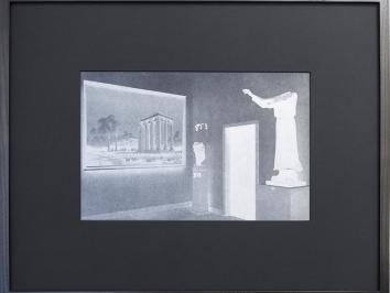 University of Texas at Austin Studio Art and Painting Professor and Pictures Generation alumnus Troy Brauntuch solo exhibition at Petzel gallery reviewed in Art and America displaying one of his photo-engraved magnesium plate letterpress prints