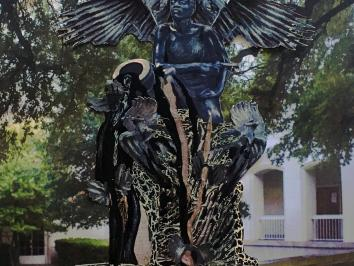 monument inspired by Soldiers and Sailors Memorial Arch