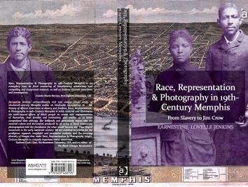 book jacket image of a purple background and tintype photographs superimposed