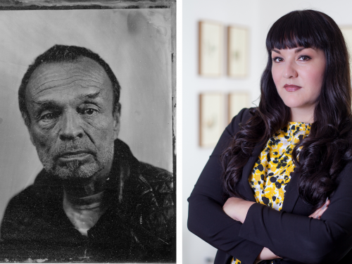 portraits of daniel martinez and pilar tompkins